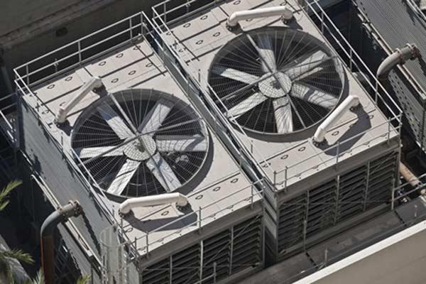 فن برج خنک کننده